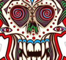 Undead Sugar Skull Sticker