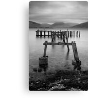Over The Old Pier Canvas Print
