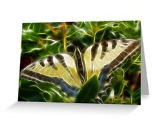 Butterfly (Fractalius) Greeting Card