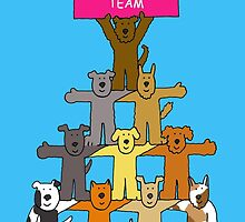 Welcome to the team cartoon cats. by KateTaylor