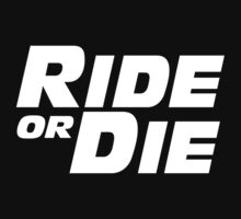 ride or die paul walker tribute quote T-Shirt