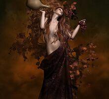 Geshtinanna Goddess of Grape Vine by Shanina Conway