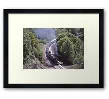 1218 Entering The Loops May 1989 Framed Print