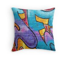 SYDNEY GRAFFITI 12 Throw Pillow