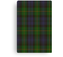 00034 Gordon Clan Tartan Canvas Print