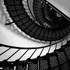 The Lighthouse Stairs by Caren Grant