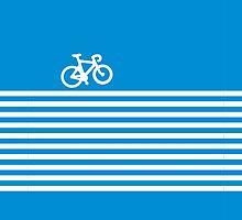 Blue Simple Bike by XOOXOO