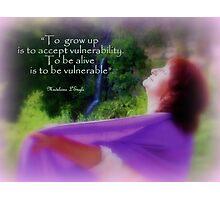 Vulnérabilité Photographic Print