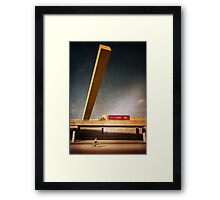 Different directions Framed Print