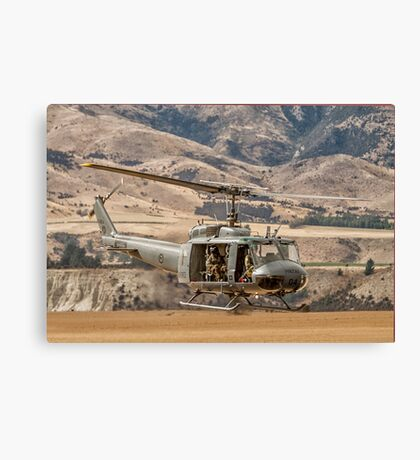 RNZAF Rescue Helicopter Canvas Print