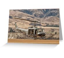 RNZAF Rescue Helicopter Greeting Card