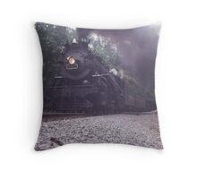 NKP 587 Graphite North Carolina Throw Pillow