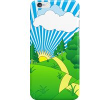 Green Grass Sunshine Portrait - New iPhone Case/Skin