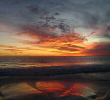 Mullaloo Beach Sunset by Mel Clarke