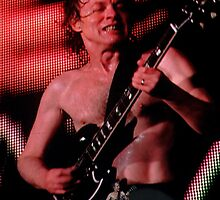 Angus Young by Honor Kyne