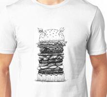 Hamburger Plus! Unisex T-Shirt