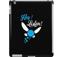 Hey Listen - Tshirts & Hoodies iPad Case/Skin