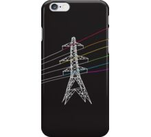 The Dark Side of Electricity iPhone Case/Skin