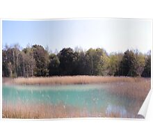 Serenity At The Lake (Fowlmead Sandwich Kent) Poster