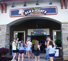 Free Ice Cream At Ben and Jerry's by raindancerwoman