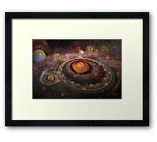 'Misty Multiverse' Framed Print