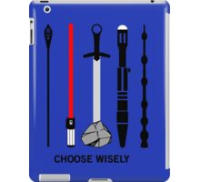 choose wisely... iPad Case/Skin