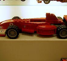 A Lego Ferrari F1 by sstarlightss