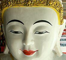 Mandalay Buddha/Myanmar by Robert George