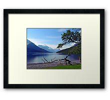 Upper Waterton Lake Framed Print