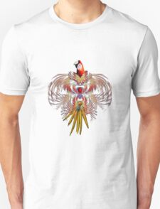 Flurry of feathers Unisex T-Shirt