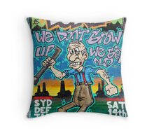 SYDNEY GRAFFITI 15 Throw Pillow
