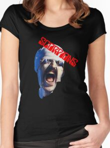 Scorpions  Women's Fitted Scoop T-Shirt