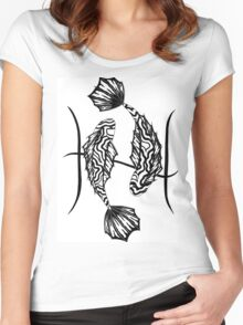 Pisces Women's Fitted Scoop T-Shirt