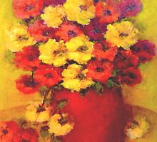 Nanna's Flowers by LindaGray