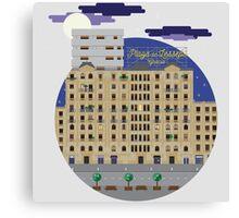 Barcelona unusual souvenirs Canvas Print