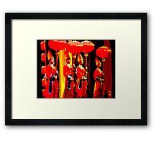 Beijing Opera Framed Print