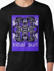 tribal surf butterfly effect Long Sleeve T-Shirt