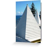 Bermuda triangle Greeting Card