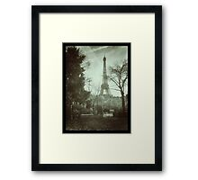 Eiffel Tower in the morning Framed Print