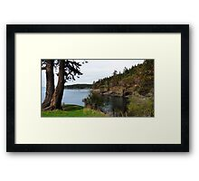 Secret Cove Framed Print
