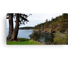 Secret Cove Canvas Print