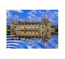 Château de Chantilly, France Art Print