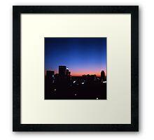 Providence Pinhole Framed Print