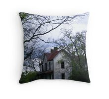 Now THAT looks like  a haunted house Throw Pillow
