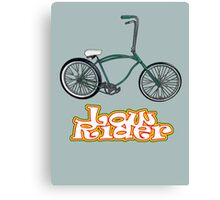 Low Rider Canvas Print