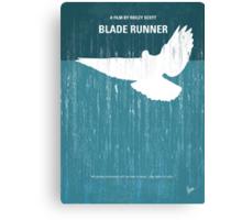 No011 My Blade Runner minimal movie poster Canvas Print