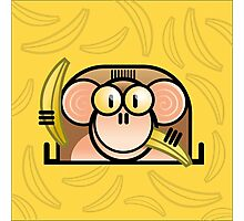 Comic Monkey Photographic Print