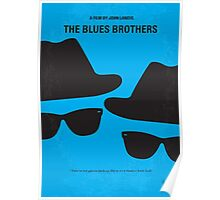 No012 My Blues brothers minimal movie poster Poster