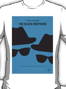 No012 My Blues brothers minimal movie poster T-Shirt