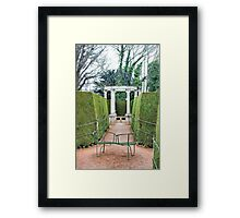 Centre of the Mystery Framed Print